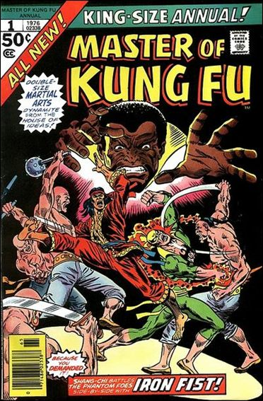 Master of Kung Fu Annual 1-A by Marvel
