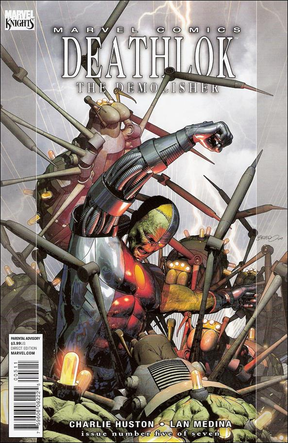 Deathlok (2010) 5-A by Marvel