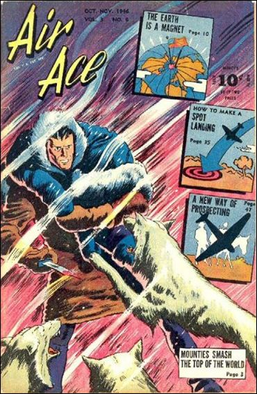 Air Ace (1945) 6-A by Street and Smith Publications