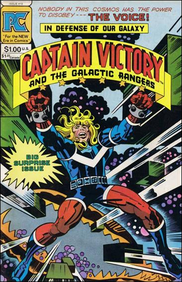 Captain Victory and the Galactic Rangers (1981) 10-A by Pacific Comics