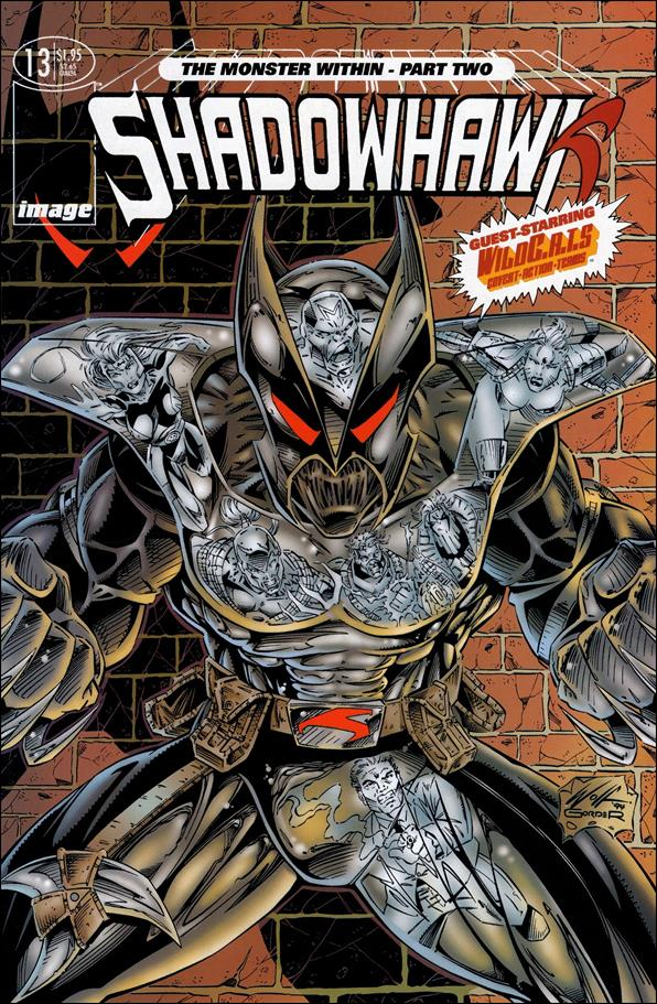 ShadowHawk (1992) 13-A by Image