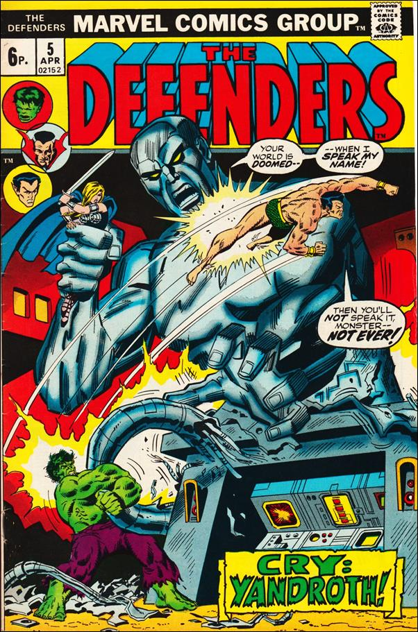 Defenders (1972) 5-B by Marvel