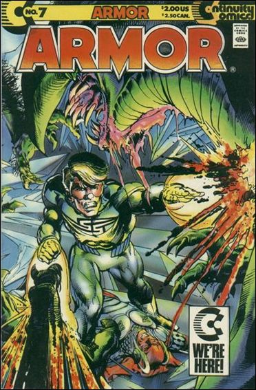 Armor (1985) 7-A by Continuity Comics