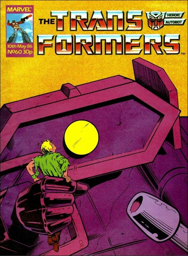 Transformers (UK) 60-A by Marvel UK