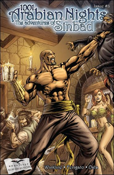 1001 Arabian Nights: The Adventures of Sinbad 8-A by Zenescope Entertainment