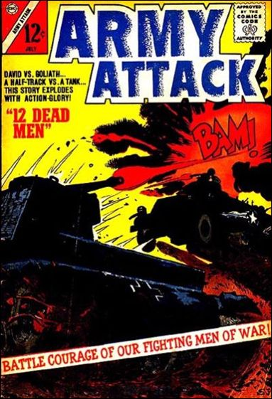 Army Attack 1-A by Charlton