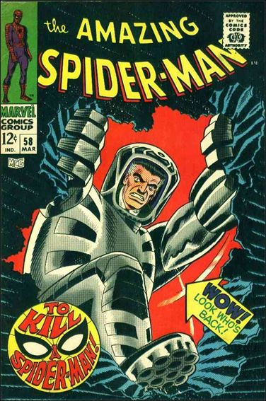 Amazing Spider-Man (1963) 58-A by Marvel