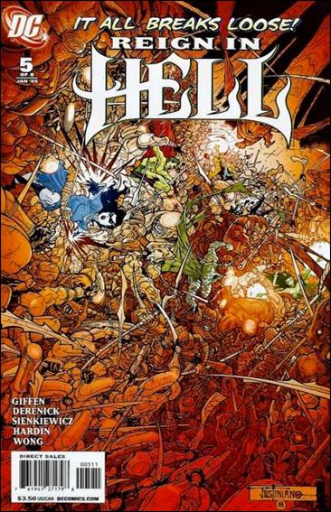 Reign in Hell 5-A by DC