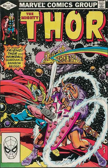 Thor (1966) 322-A by Marvel