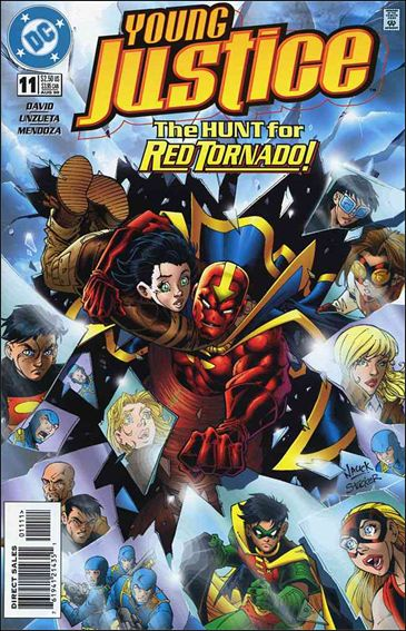Young Justice (1998) 11-A by DC