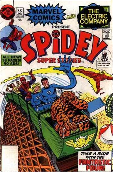 Spidey Super Stories 38-B by Marvel