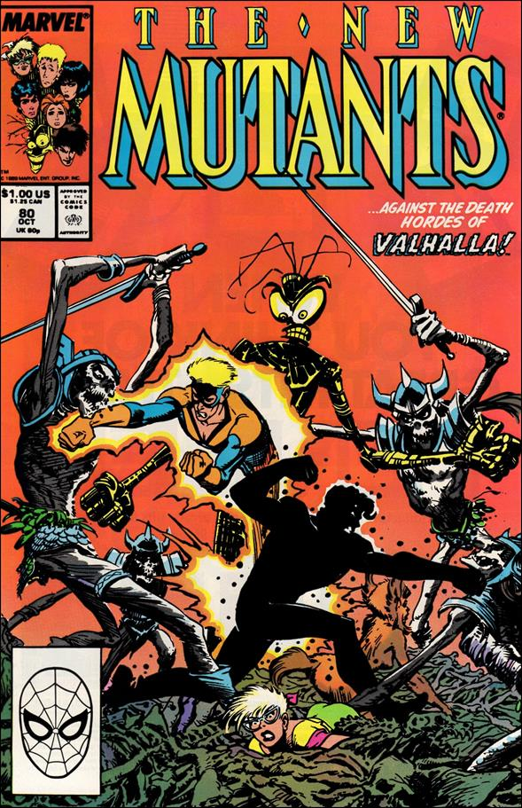 New Mutants (1983) 80-A by Marvel