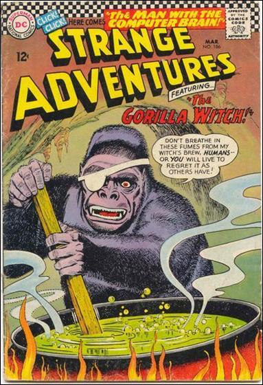 Strange Adventures (1950) 186-A by DC