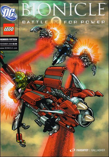 Bionicle: Battle For Power 15-A by DC