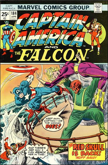 Captain America (1968) 184-A by Marvel