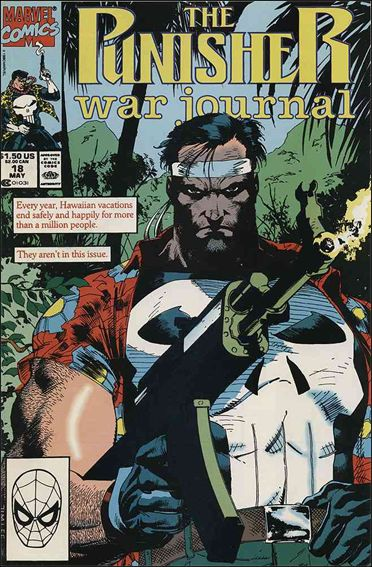Punisher War Journal (1988) 18-A by Marvel