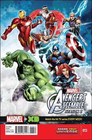Marvel Universe Avengers Assemble Season 2 13-A