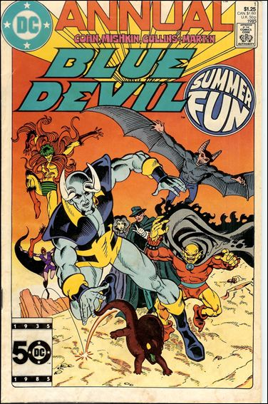Blue Devil Annual 1-A by DC