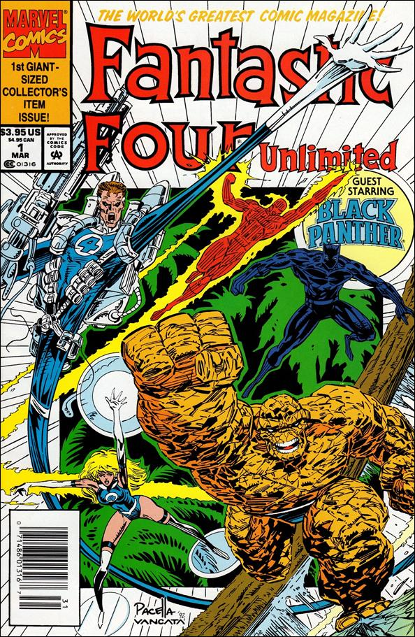 Fantastic Four Unlimited 1-A by Marvel