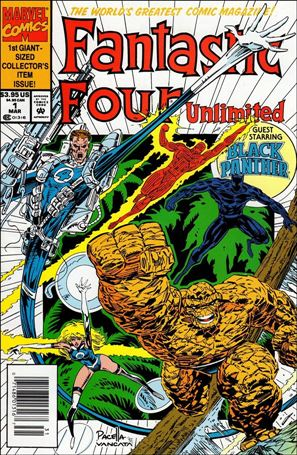Fantastic Four Unlimited 1-A