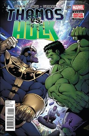 Thanos vs Hulk 1-A