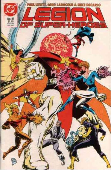 Legion of Super-Heroes (1984) 41-A by DC