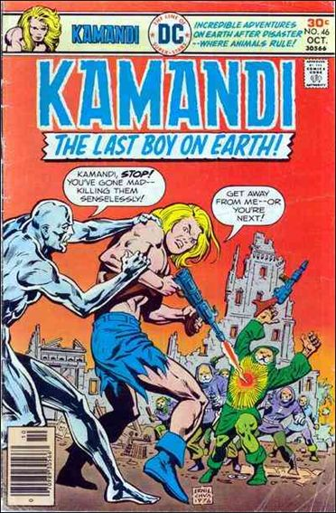 Kamandi, the Last Boy on Earth 46-A by DC