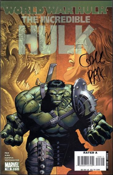 Incredible Hulk (2000)  108-B by Marvel
