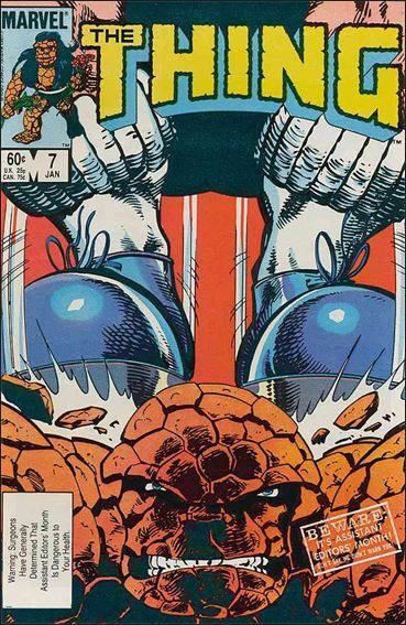 Thing (1983) 7-A by Marvel