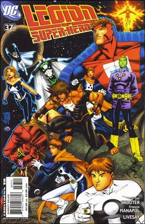 Legion of Super-Heroes (2005) 37-A