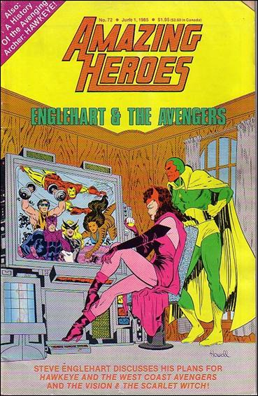 Amazing Heroes 72-A by Fantagraphics