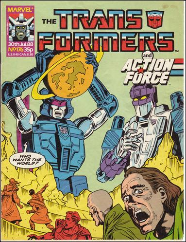 Transformers (UK) 176-A by Marvel UK