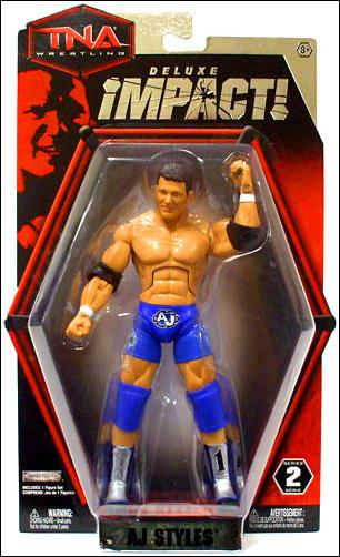 TNA Wrestling: Deluxe Impact (Series 2) AJ Styles by Jakks Pacific