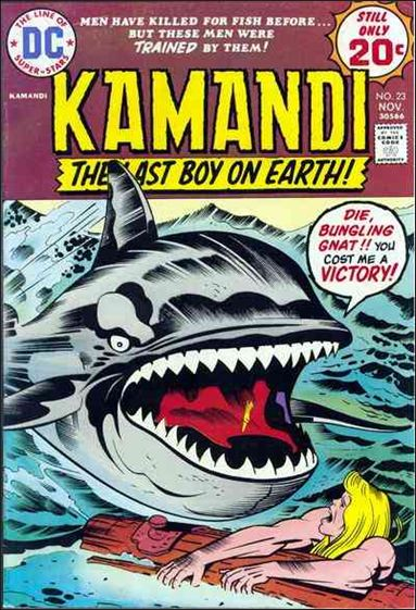 Kamandi, the Last Boy on Earth 23-A by DC