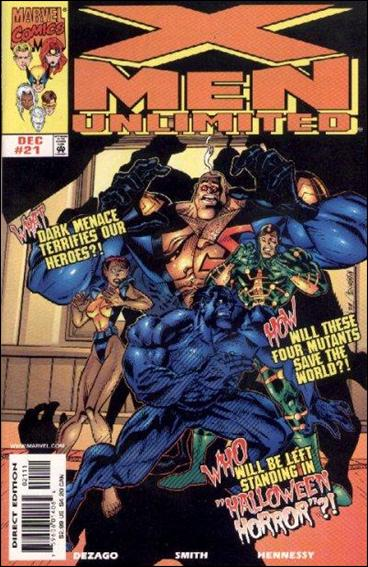 X-Men Unlimited (1993) 21-A by Marvel