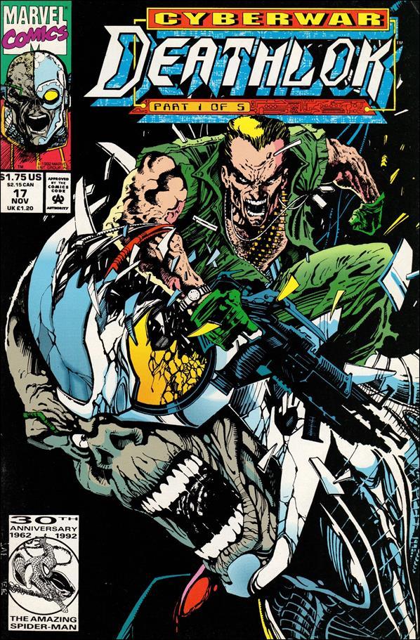 Deathlok (1991) 17-A by Marvel