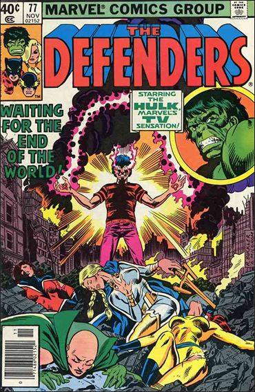 Defenders (1972) 77-A by Marvel