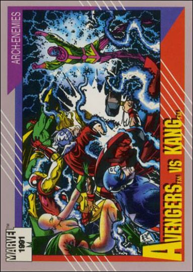 Marvel Universe: Series 2 (Base Set) 96-A by Impel