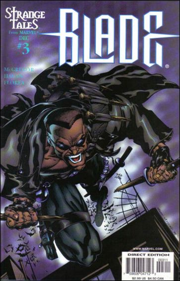 Blade (1998) 3-A by Marvel