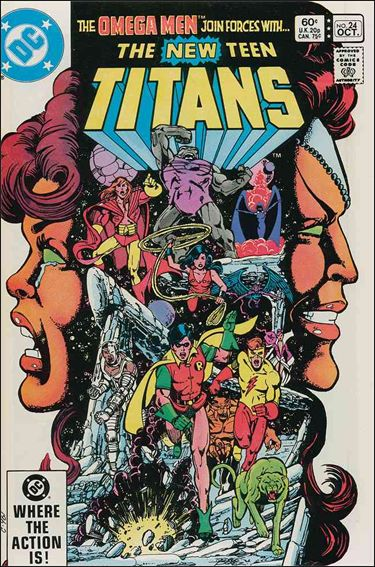 New Teen Titans (1980) 24-A by DC