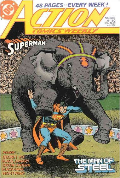 Action Comics (1938) 630-A by DC