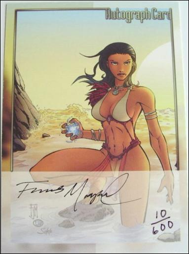 Michael Turner's Fathom (Autograph Subset) nn-F Manapu-A by Dynamic Forces