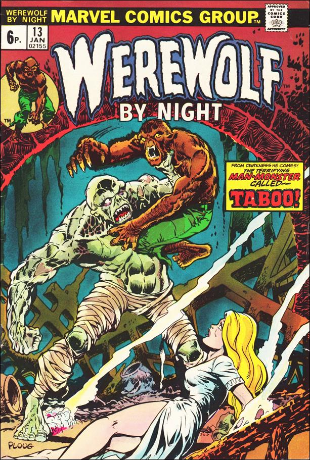 Werewolf by Night (1972) 13-B by Marvel