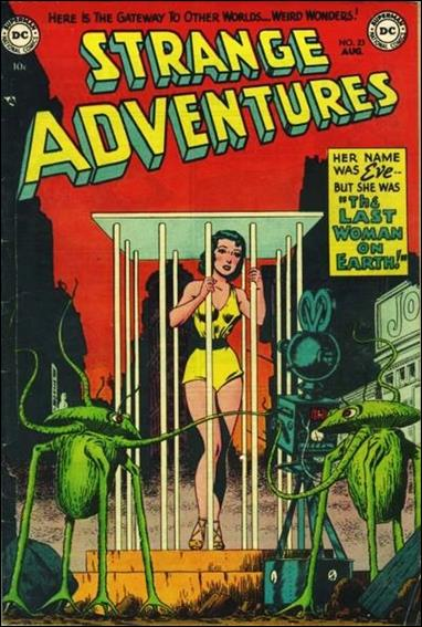 Strange Adventures (1950) 23-A by DC