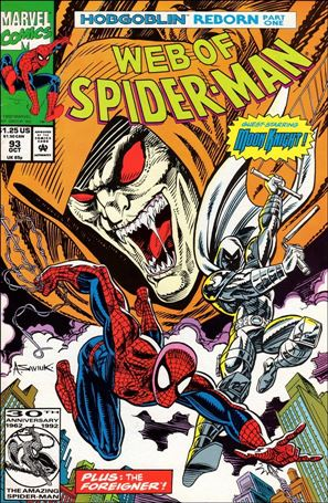 Web of Spider-Man (1985) 93-A