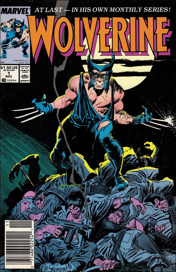 Wolverine (1988)  1-A by Marvel