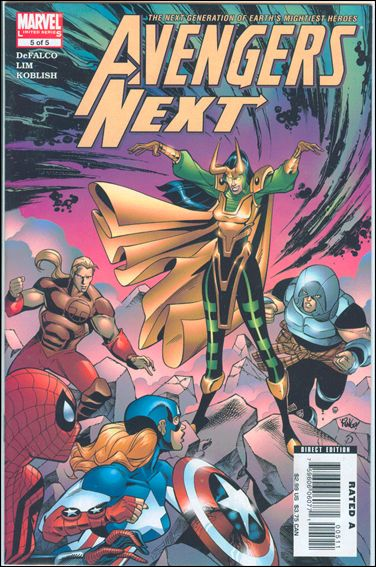 Avengers Next 5-A by Marvel