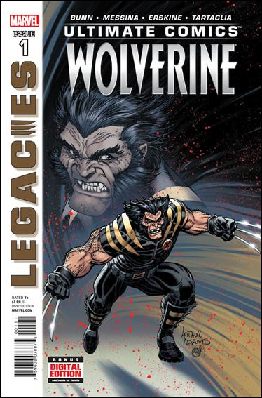 Ultimate Comics Wolverine 1-A by Marvel