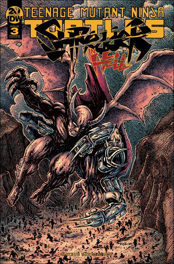 Teenage Mutant Ninja Turtles: Shredder in Hell 3-B by IDW