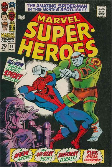 Marvel Super-Heroes (1967) 14-A by Marvel